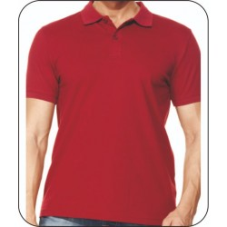 Bay Polo Yaka Bordo Tshirt