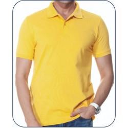 Bay Polo Yaka Sarı Tshirt