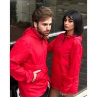 Sevgili Kombini Kırmızı Yağmurluk