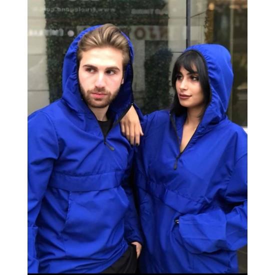 Sevgili Kombini Mavi Yağmurluk